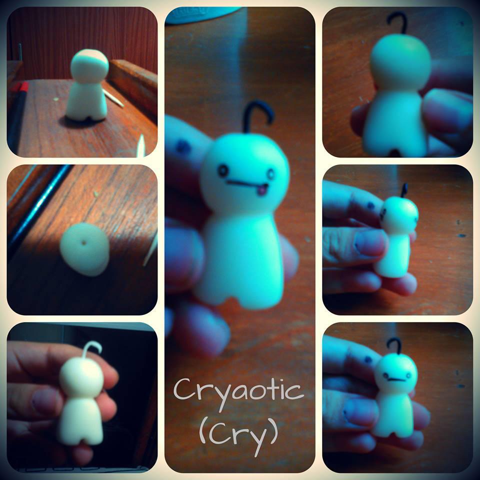 Cry (ceramic) by IloveWKever