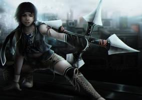 Yuffie Kisaragi Final Fantasy 7 by StargazerArts