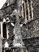 Celtic Cross by WinterDruidess