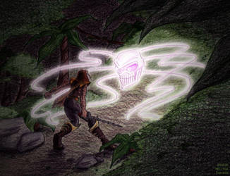 OV - Dinobot vs the Vok by WaywardInsecticon