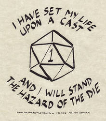 The Hazard of the Die by WaywardInsecticon