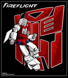 Fireflight by WaywardInsecticon