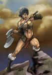 Idris The Barbarian by Tazio Bettin by LadyDreamMaker