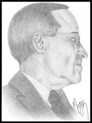 Harry S. Truman by Cerasine
