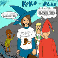 Koko the Blue Oktoberfest by Nesariel