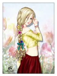 The prettiest flower by theNightwishmaster
