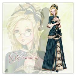 Almealnise Leodinine by theNightwishmaster