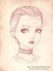 Daily Sketch Challenge 2 by theNightwishmaster