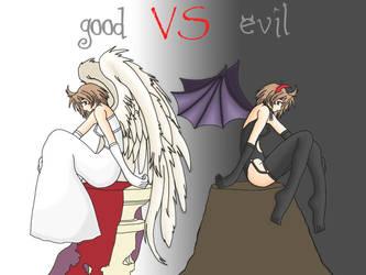 Good VS Evil -1600x1200- by BourqueMich