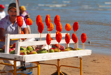 Mangos con chile by Rafaxx