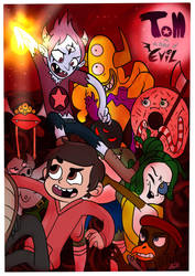 Tom Is A Force Of Evil: Chapter 1 Cover by midnightclubx