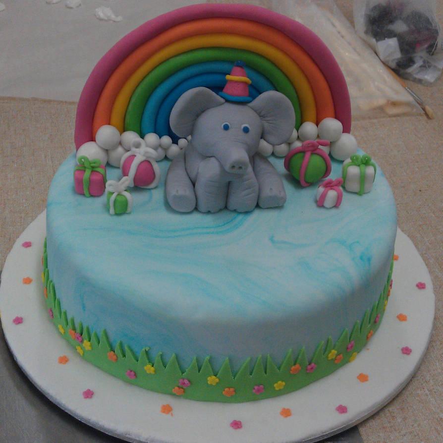 Elephant Birthday Cake By The Jabberjay On Deviantart