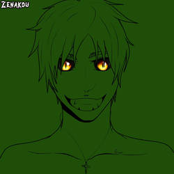 Eren Jaeger- Yellow Eyes by Hisamicchi-Oc