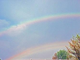 2 rainbows by lovingstar