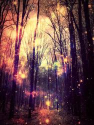 Magicforest by Greywolfskybear