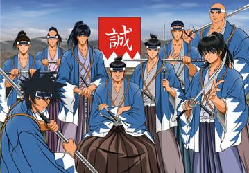 shinsengumi by shayodiyu