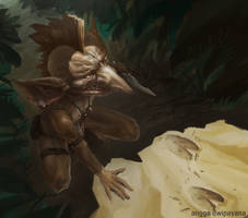 Goblin Tracker by AnggadpArt