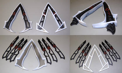 Assassin Knife Belt Symbol by ammnra