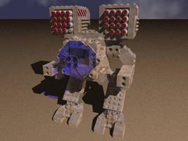 Lego Mad Cat OmniMech by Vorashnik