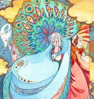 Mononoke -The Peacock King by mementomoryo