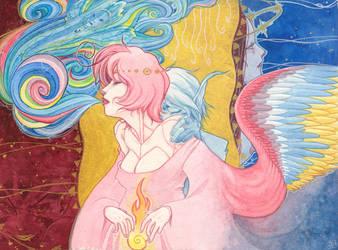 sky doll :: IGNIS DEI by mementomoryo