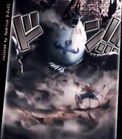 Moria vs Luffy and Zoro by Sedrick-D-Evil