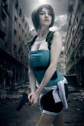 Jill Valentine cosplay by AgosAshford