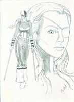 Rose Wilson aka Ravager by PnubaumTurk
