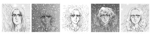 Harry Potter Shojo Manga Cast! by Huriyya666child