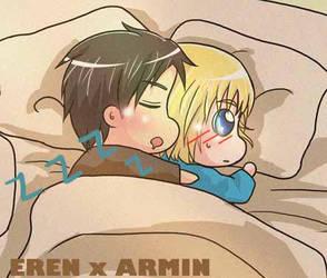 EREN X ARMIN by hxhlxlhxh