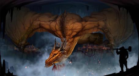 Dragon by NestStrix