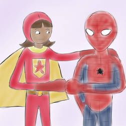 Request: Wordgirl and SpiderMan by AnimeCouples1992