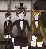 [MMD] FNaF Character Profiles: Freddy by ccandybabe