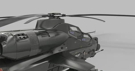 Z-10 Keyshot CockpitView.86 by AndrewCZ