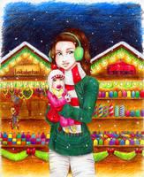 Christmas market by AnaisKalinin