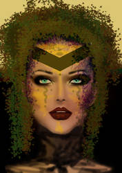 Mother Nature (Digital art) by trinnychops