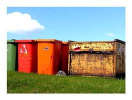 coke bins landscape by totorox
