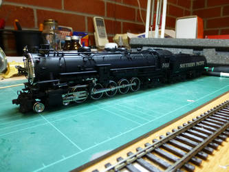 The SP type A 4-10-2 by SAR500
