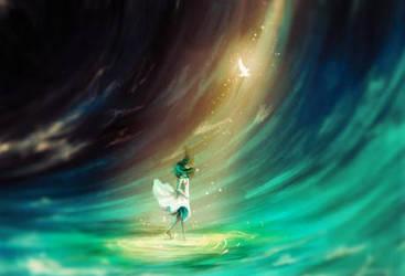 Oceans light by awesomestar