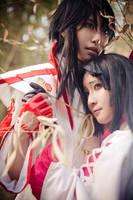 Nagamasa and Oichi_2_Sengoku Basara2 by smallw