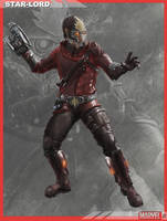 MARVELNOW StarLord Orig. Color Scheme by dbvinal