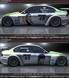 OreImo BMW 320si E90 WTCC Extreme Itasha_02 by FAT8893