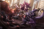 Symbiote Pokemon by DenaJarawr
