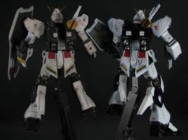 HGUC Nu Gundams Back by GameraBaenre