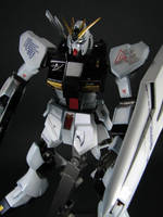 HGUC Nu Gundam Clean by GameraBaenre
