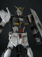 HGUC Nu Gundam Weathered by GameraBaenre