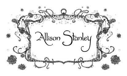 Blackberry Border by AllisonStanley
