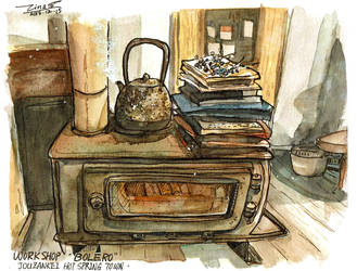 Stove by tinashan