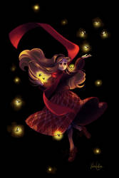 Anna and the Fireflies by Valen-LaRae