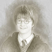 Harry Potter Sketch Fan Art by jennaikikz